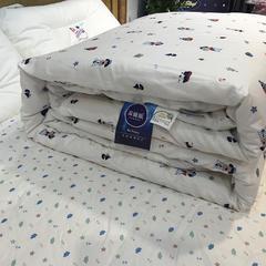 圣艺莱 2018儿童棉花被 150x200cm 棉花被-白