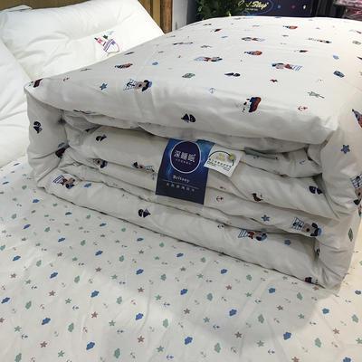 2018儿童棉花被 150x200cm 棉花被-白