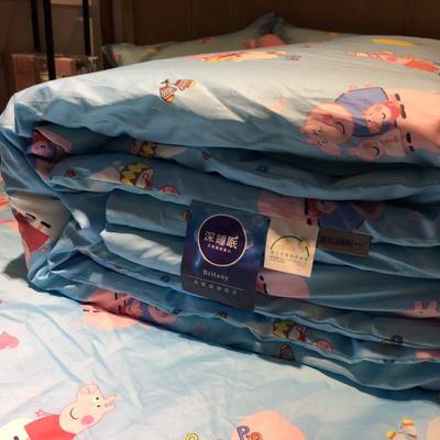 2018儿童棉花被 150x200cm 棉花被-佩奇-蓝