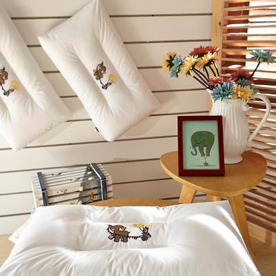 儿童水洗枕 35*60cm/只绣大象