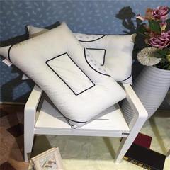 徐大大家纺枕芯系列月牙半磁枕实拍 月牙半磁枕一个