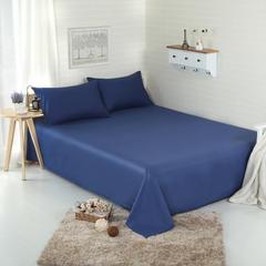 恩和家纺 纯色单品床单 13372面料 140cmx230cm 藏青