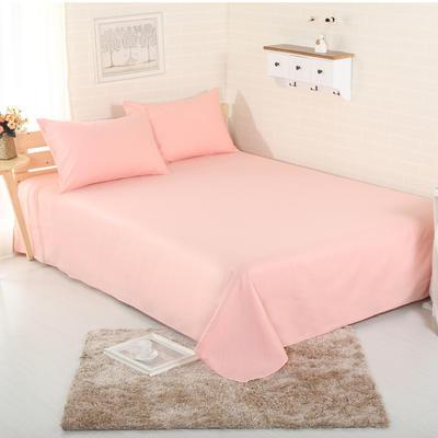 床单 纯色床单 全棉40支学生床单 13372面料 140cmx230cm 玉色