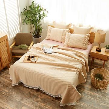 恩和家纺十里桃花系列床盖三件套