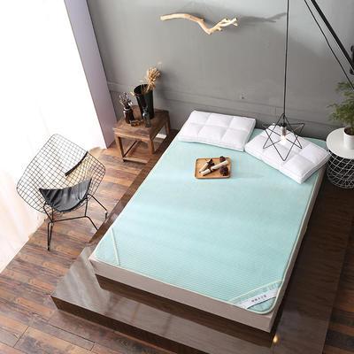 床垫 保暖床垫 法莱绒床垫子 120*200 cm 水绿