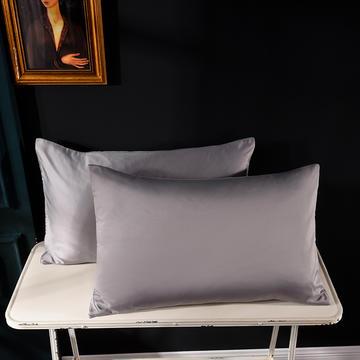 枕套 水洗真丝枕套 哑光仿水洗枕套 学生枕头套