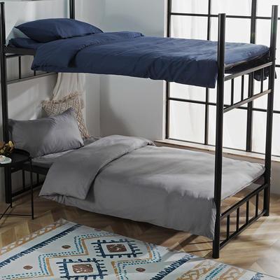 学生三件套 磨毛三件套恩和家纺 1.2m(4英尺)床 深灰