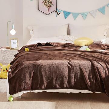 毛毯 毯子 水貂绒盖毯 恩和家纺