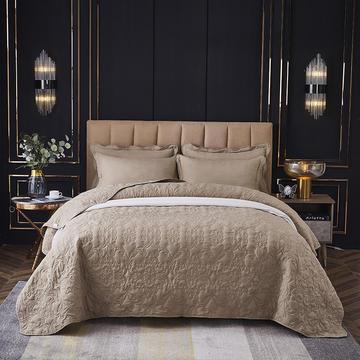 床盖 床单 夹棉床盖三件套 床单 恩和家纺