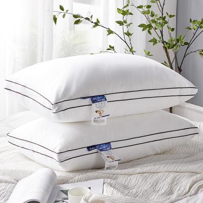 2021新款全棉60支贡缎枕芯枕头48*74cm/只 白色