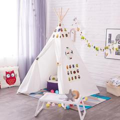 巧然之家简约大气儿童室内帐篷游戏屋印第安风格儿童摄影道具猫头鹰帐篷 猫头鹰款帐篷