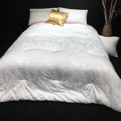伊丝贝尼   木棉蚕丝被-白 150x200cm 木棉蚕丝被-白