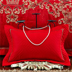 伊丝贝尼    新款60婚庆    金色流年 1.8m(6英尺)床 靠垫