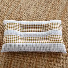 兴煌枕芯   水洗棉保健枕芯 橘黄1