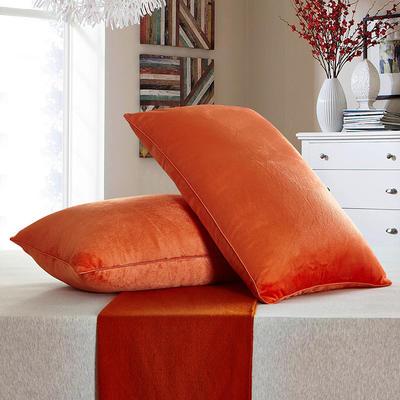 兴煌枕芯   水晶绒 舒适枕青春版 橙色