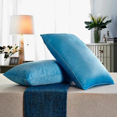 兴煌枕芯   水晶绒 舒适枕青春版 海蓝