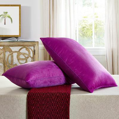 兴煌枕芯   水晶绒 舒适枕青春版 紫色