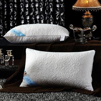 针织棉按摩护颈枕芯 凤尾纹经济款