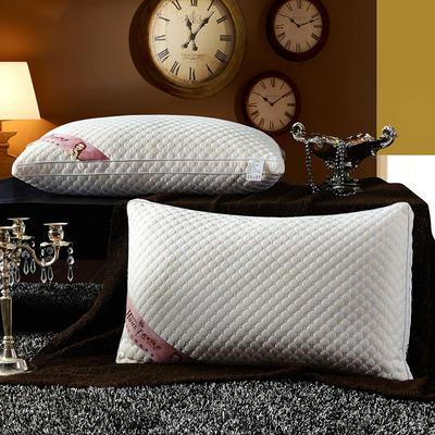 针织棉按摩护颈枕芯 水立方奢华款