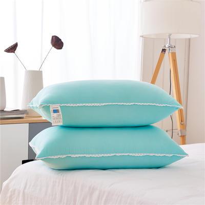彩色水洗棉低枕(48*74) 浅绿