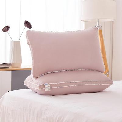 彩色水洗棉高枕(48*74) 灰色