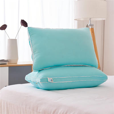 彩色水洗棉高枕(48*74) 浅绿