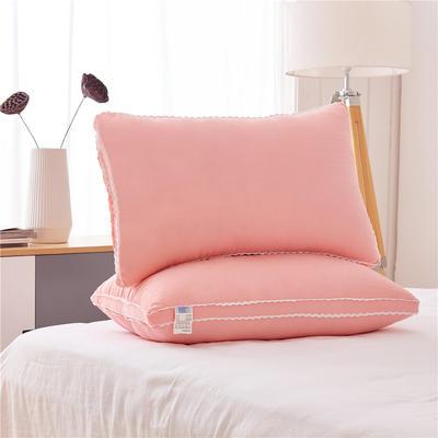彩色水洗棉高枕(48*74) 玉色