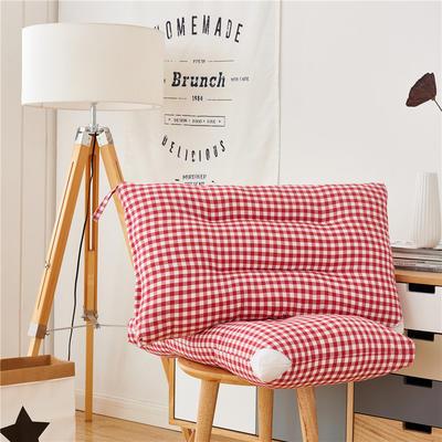 水洗枕(48*74) 红色小格子