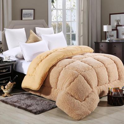 保暖羊羔绒 150x200cm 驼色
