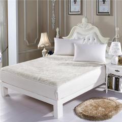 羊毛床垫 1.2m(4英尺)床 白