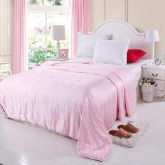 莫代尔纯优蚕丝被 200X230cm  4斤 粉色