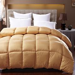 绒丝被 150x200cm  4斤 驼色