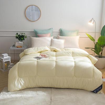 全棉彩色春秋被 150x200cm  3斤 琥珀米