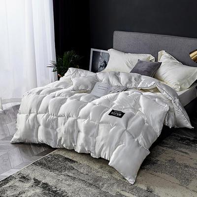 .真丝冬被 150x200cm  4斤 白色