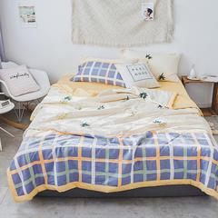 棉生活系列夏被 枕套一对 菠萝蜜语