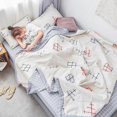 棉生活夏被套件 150x200cm 蒂莫西-米