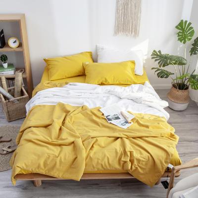 眠梦夏被 150x200cm  2.3斤 黄色