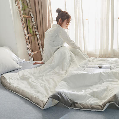 佛系夏被 180x210cm  2.2斤 白色