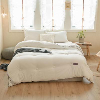 云绒超厚被 150x200cm  4斤 白色