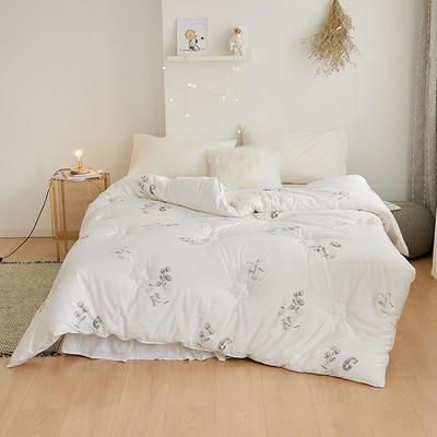 新疆棉花系列 150x200cm  5斤 木棉花开 白