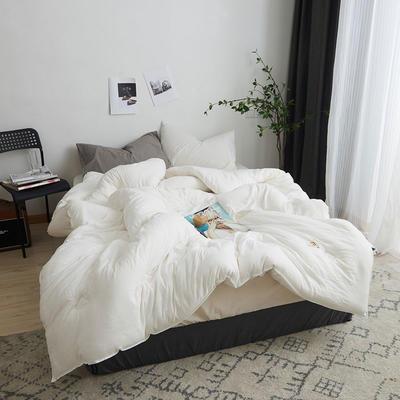 棉朵冬被 150x200cm5.5斤 白色