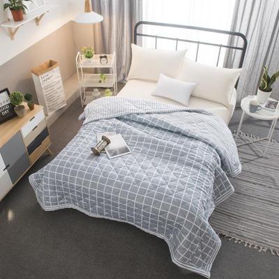 2020新款全棉印花夏被 110x150cm 灰色格调