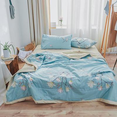 纺棉夏被&套件 单被150*200/1.6斤 橘子花开