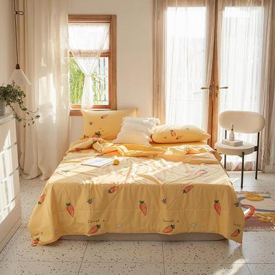 棉生活夏被套件 单被110*150/1.0斤 可爱萝卜
