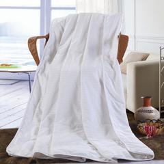 缎条蚕丝被 150x200cm 白色