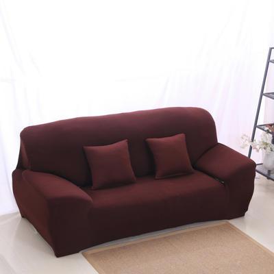 2020新款纯色沙发套 单人尺寸90-140cm 纯色 咖啡