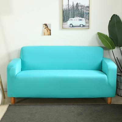 2020新款纯色沙发套 单人尺寸90-140cm 天蓝