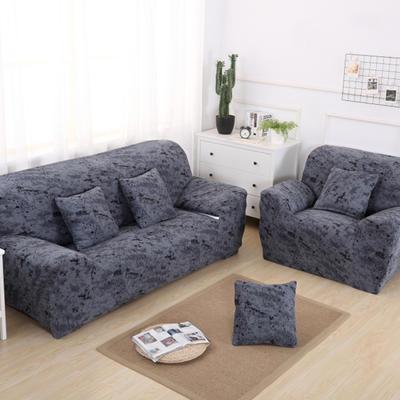 2020新款四季款 泼墨款 沙发套 单人尺寸90-140cm 泼墨 黑灰