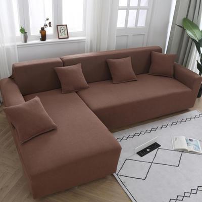 2020新款玉米绒 沙发套 单人尺寸 90-140的 CM 玉米绒浅咖