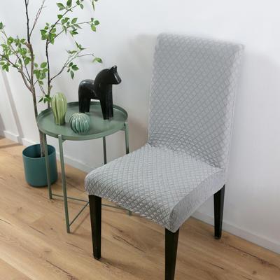 2020新款针织提花椅套 针织提花 灰色